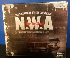 N.W.A. - The Best of NWA CD & DVD Clean Edited Version Rare Dr. Dre Ice Cube rap