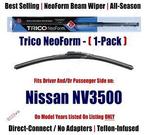 (Qty 1) Super-Premium NeoForm Wiper Blade fits 2012+ Nissan NV3500 - 16210