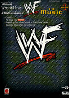 WORLD WRESTLING FEDERATION ENTRANCE THEMES Guitar & Voice TAB Sheet Music Book