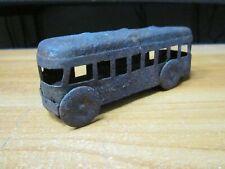 Collectible Vintage Soviet toy bus USSR Retro Scale Model Antiques