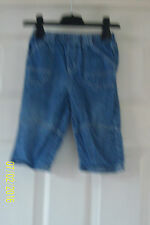 Next Boys' No Pattern Jeans Trousers & Shorts (0-24 Months)