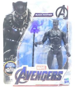 Hasbro Marvel Avengers T'Challa Black Panther Action Figure Collectible Toy New