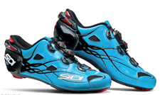 SIDI Shot Road Carbon Cycling Shoes Cleat Shoes Blue Sky/Black 40-46 EUR Italy