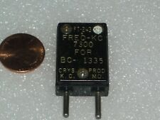 FT243 quartz crystal  f= 7.300  MHz  by CRYS PROD for AMECO AC-1