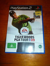 Tiger Woods PGA Tour 09, PS2, complete, tested and working well