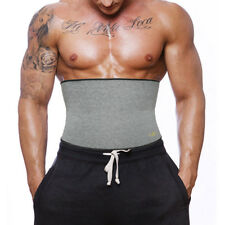 Men Extreme Thermal Body Shaper Slimming Waist Trainer Cincher Power Belt Sweat