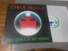 Cyber People This World is Not Enough green vinyl Italo-disco reissue Mem Music