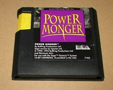 PowerMonger Sega Genesis Fast Shipping! Authentic