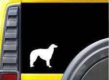 Borzoi K980 6 inch Sticker dog decal
