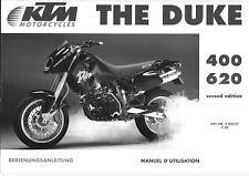 1995 KTM 400 620 Duke Owners Handbook - RepairManual.com