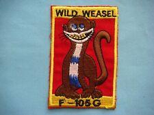 Vietnam War Patch, Us Air Force F-105G Wild Weasel