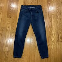 Citizens of Humanity Rocket Jeans High Rise Skinny Blue Women's Sz 28 Crop