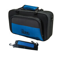 Paititi Lightweight Bb Clarinet Case with Shoulder Strap, Large Front Pocket