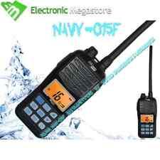 NAVY-015F RICETRASMETTITORE PORTATILE VHF NAUTICO GALLEGGIANTE SE CADE IN ACQUA
