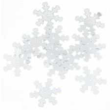 1000 Christmas Snowflake Sequins Sewing Scrapbooking Y4F9 G2R6