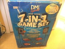 DMI Sports 7 in 1 Indoor Outdoor Game Set-Hours of Fun! New in Box