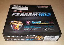 Gigabyte F2A55M-HD2 Micro ATX FM2+ FM2 Motherboard -for- AMD APU CPUs