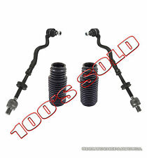 Inner + Outer LR Steering Tie Rod Rods + Rack Boot Kit 4 for BMW E36 3 SERIES Z3