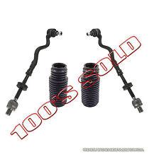 Inner + Outer LR Steering Tie Rod Rods + Rack Boot Kit 4 for BMW E36 3 SERIES Z3