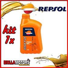 KIT 1x LITRO OLIO REPSOL MOTO FORK OIL 5W 1LT FORCELLA - 1x REPSOL22