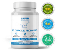 FLORACIL50 PROBIOTIC (90 Capsules) Support Imune System - Improve Digestion