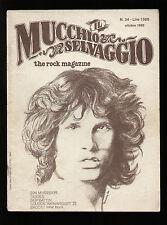 MUCCHIO SELVAGGIO 34/1980 JIM MORRISON DOORS PEARLS BEFORE SWINE SKIP BATTIN