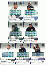 2004 SP Authentic Autograph RC #187 Carlos Hines #/999 Rays