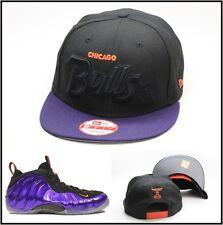 "New Era Chicago Bulls Snapback For Air Foamposite One Purple ""Phoenix Suns"" nba"