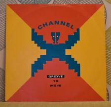 CHANNEL X - Groove To Move [Vinyl 12 Inch Single,1991] UK PWLT 209 Techno *EXC