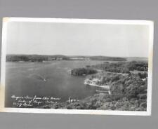 pk33918:Real Photo Postcard-Bigwin Inn from the Tower,Lake of Bays,Ontario