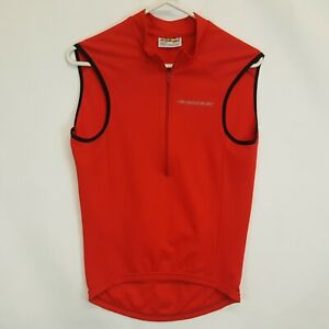 Giessegi Sleeveless Cycling Vest Gilet Shirt Jersey RED Size XS 2 Made in Italy