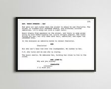 "Lost In Translation Screenplay Movie Poster! (up to 24"" x 36"") - Film - Scripts"