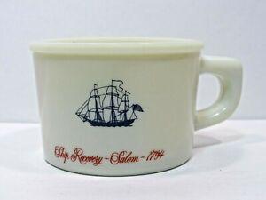 Vintage Old Spice Shaving Mug Cup Shulton  Ship Recovery Salem - 1794