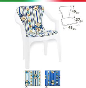Cushion Cover Chair Garden Outer Summer Sitting Backrest Marine Shells