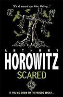 Scared (Horowitz Horror) by Anthony Horowitz, Good Used Book (Paperback) FREE &