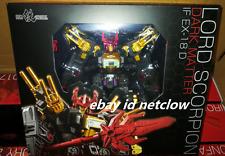 Transformers IronFactory IF EX-18 Dark MegaZarak Lord Scorponok in Stock