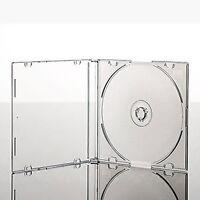 25 x CD/DVD CLEAR ULTRA SLIMLINE SINGLE JEWEL CASES 5.2 MM