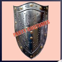 Medieval Steel Shield For re-enactment / larp/ role-play/ fancy-dress A70