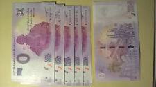 seltener 0 - Euro Geldschein Martin Luther Souvenir Banknote 2017 ev. Kirchentag
