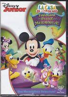 Dvd Disney LA CASA DI TOPOLINO NEL PAESE DELLE MERAVIGLIE Minni Pluto Paperino