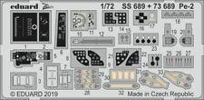 Eduard PE 73689 1/72 Petlyakov Pe-2 Detail set ZVEZDA