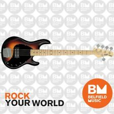 Sterling by Music Man StingRay5 RAY5 Bass Guitar 5-String Vintage Sunburst Satin
