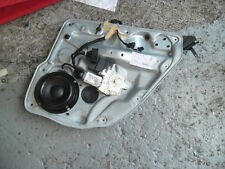 VW BORA 2001 DRIVERS O/S/R WINDOW MOTOR AND REG