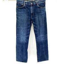 Gap 36x36 Standard Fit Blue Jeans Dark Wash Premium Heavy Denim Straight Leg