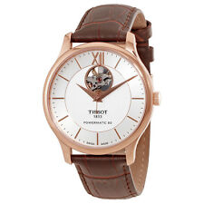 Tissot T-Classic Tradition Automatic Silver Dial Mens Watch T063.907.36.038.00