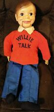 """Vintage Willie Talk Ventriloquist Doll,24"""" mouth works / just pull the string"""