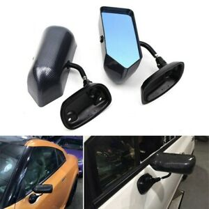 2PCS Side Mirrors Rear Vew Mirrors Left & Right For Car Truck Manual Adjustable