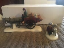 """Dept. 56 """"Bringing Fleeces To The Mill"""" #5819-0 Heritage Village Collection"""