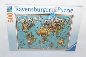 World Of Butterflies Ravensburger Jigsaw Puzzle 500 Piece Brand New #150434