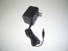 9 Volt DC 100mA Power Supply USA Wall Adapter with 5.5mm X 2.1mm DC Darrel Plug